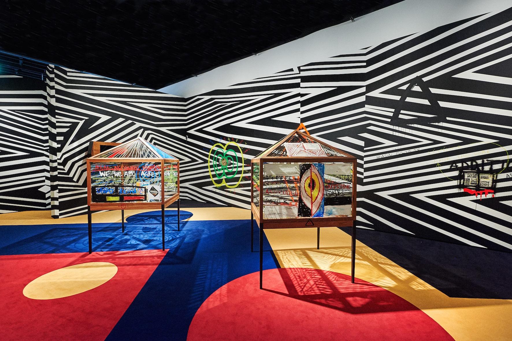 55 Exposition «L'effet boomerang. Les arts aborigènes d'Australie»
