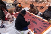 Warakurna Artists, Warakurna community, WA - womens collaborative