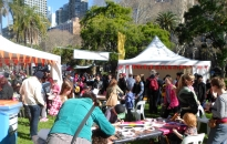 Festivities, part of NAIDOC Week at Hyde Park in Sydney