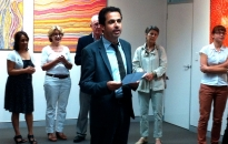 Frantz Benhayoun, director of the Alliance Française de Brisbane - opening speech