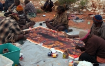 Warakurna-Women Collaborative Painting-2010-14