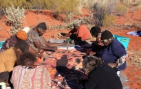 Warakurna-Women Collaborative Painting-2010-17