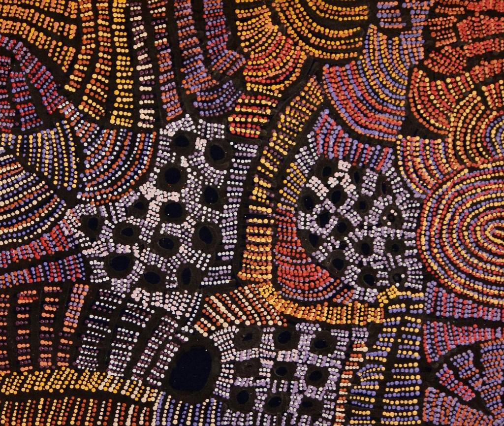 Doris Bush Nungarrayi - Tjurrpinyi, 2012 - 91 x 76 cm