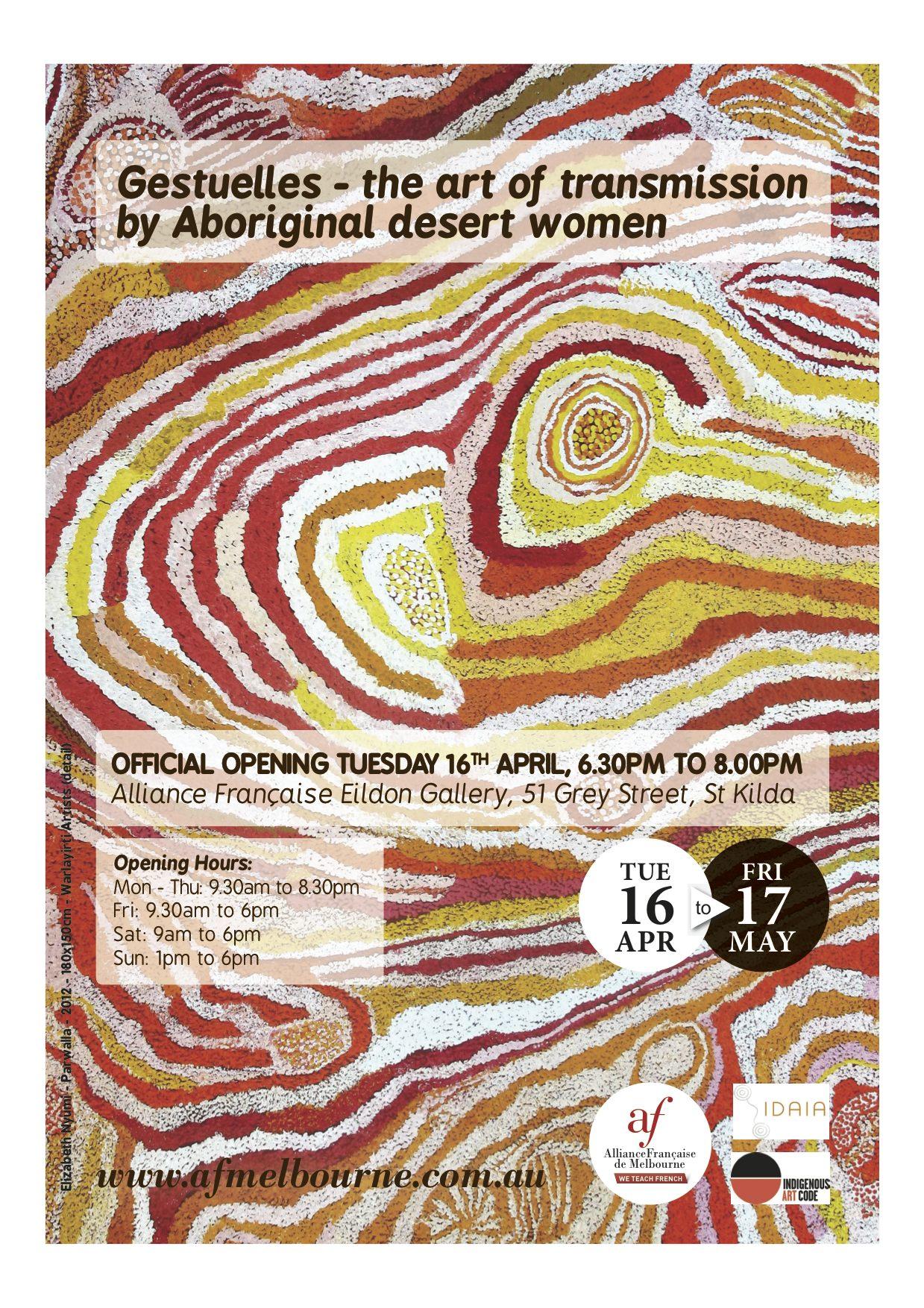 Poster Gestuelles - Melbourne Edition