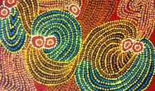 Judith Yinyika Chambers - Pukurlpatulatju Palyara Pirrtja, 2012 - 40.6x30.4cm