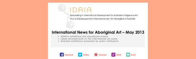 Latest developments on the international art scene