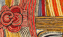 Walangkura Napanangka (Pintupi, born c.1945, Walungurru (Kintore), Western and Central Desert, Northern Territory) Lupul (detail), 2005. Acrylic on canvas, 122 x 122 cm. Gift of Will Owen and Harvey Wagner; 2009.92.321. © 2013 Artist Rights Society (ARS), New York/VISCOPY, Australia