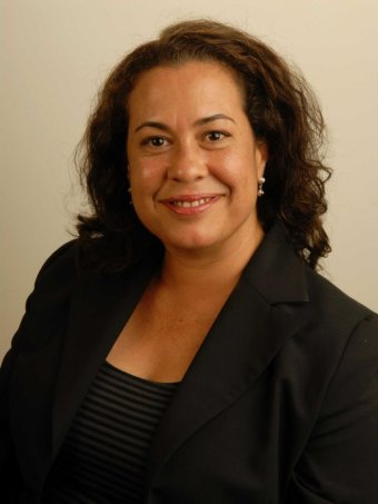 The executive director of the Australia Council's Aboriginal and Torres Strait Islander Art Board, Lydia Miller.