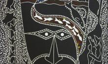 David Bosun, Baidamaw Titui Buna Urdhay Id, 2013. Image courtesy Ngalmun Lagau Minaral Art Centre
