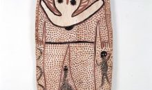Lily Karedada, Wandjina, 1995, Collection AAMU