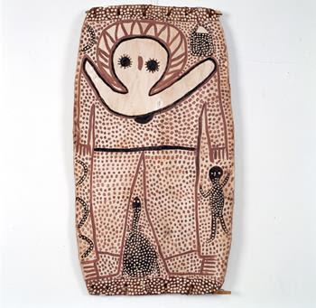 Lily Karedada, Wandjina, 1995, Collection AAMU
