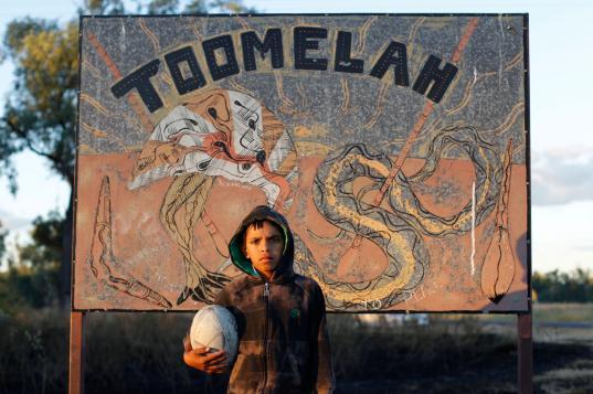 Still of film <em>Toomelah</em> (Ivan Sen, 2011, Australia) part of the <em>Together, Alone - Indigenous Film Now</em> series presented by Harvard Art Museums