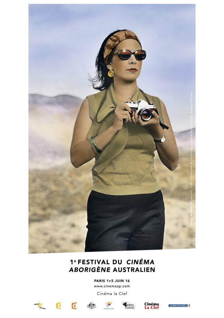 Affiche du 1er Festival du Cinéma Aborigène Australien à Paris - 1>5 juin 2016