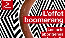 Affiche l'Effet-boomerang © MEG - Design Saentys & Brook Andrew - Photo J.Watts