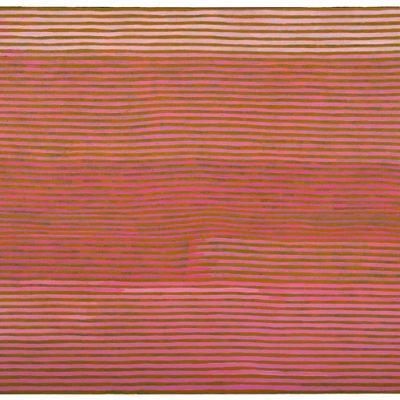 Mick NAMARARI TJAPALTJARRI, Untitled (Rain Dreaming at Nyunmanu), 1994