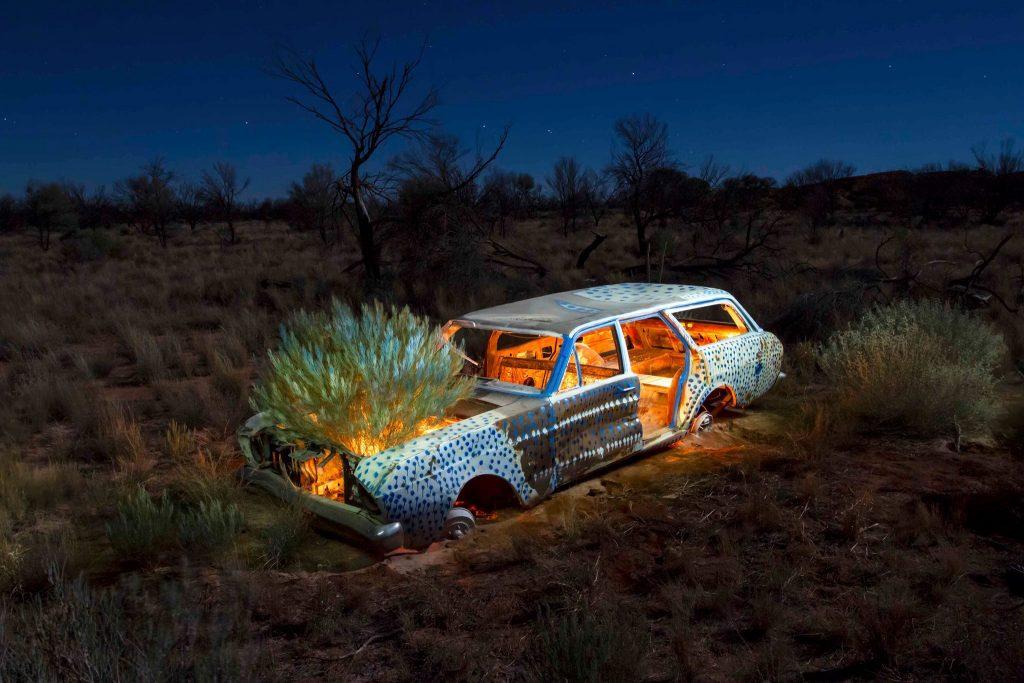 Robert Fielding - Graveyards in Between #1, 2017 - C-Type photograph © The Artist