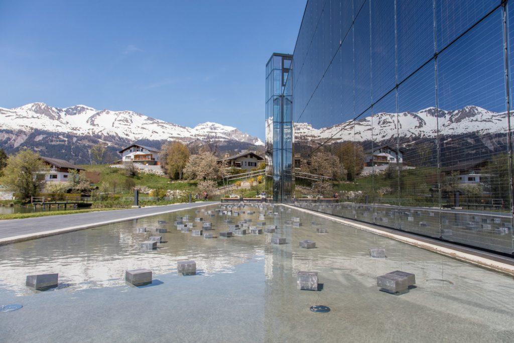 View of Fondation Opale © Photo Luciano Miglionico