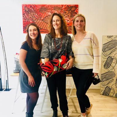 Mylene, Solenne and Alison - Launching the IDAIA x Babbarra Collection at Bliss Studio Paris © Photo IDAIA