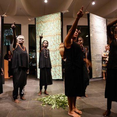 Opening Ceremony for 'Jarracharra - Dry season wind : Les vents de la saison sèche' - Photo Australian Embassy Paris