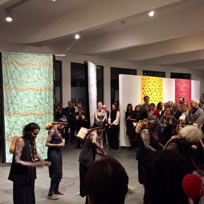Opening Ceremony for 'Jarracharra - Dry season wind : Les vents de la saison sèche' at the Australian Embassy Paris - Photo IDAIA