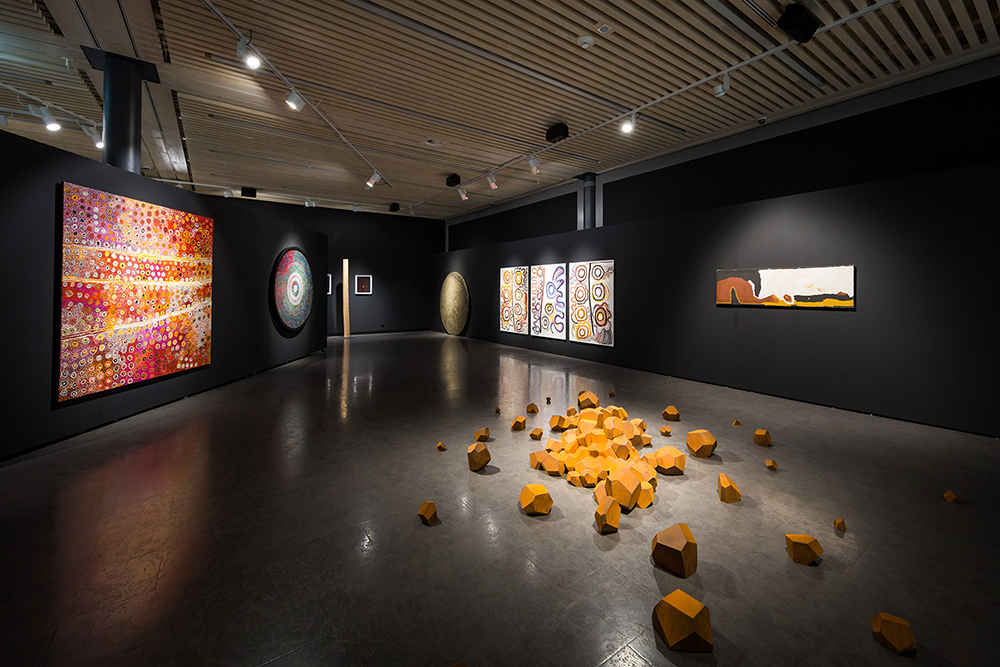 View of exhibition RESONANCES - Photo: Sébastien Crettaz